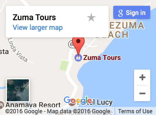 Find Zuma Tours on Google Maps