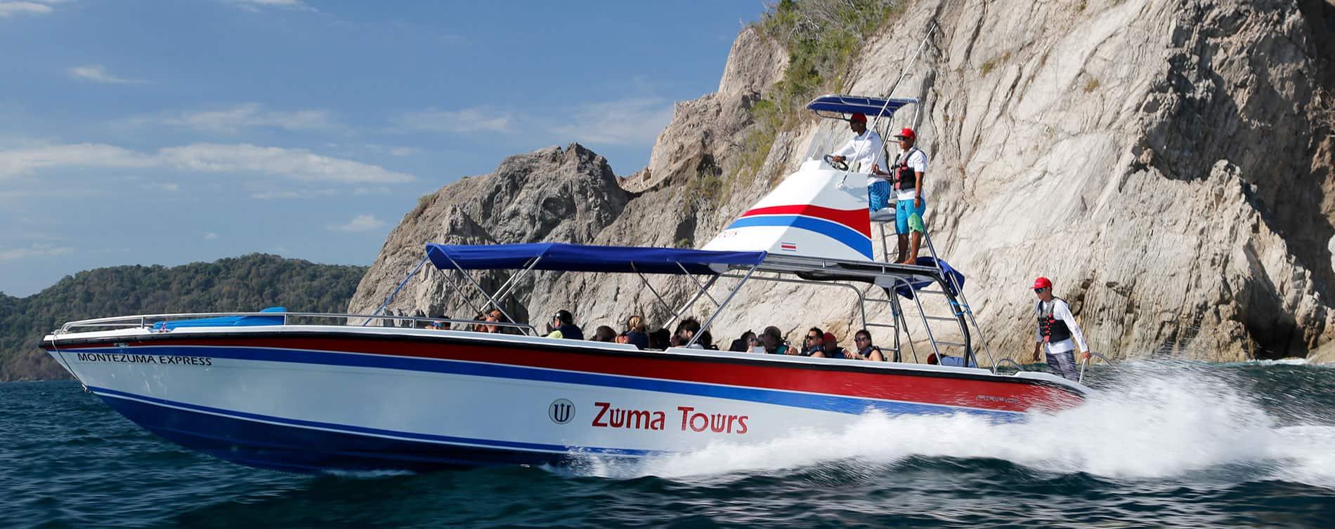 Montezuma Jaco Water Taxi - Zuma Tours